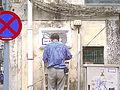 MacauStreetSign RuaDePonteEHorta install2011.jpg