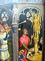 Maestro della leggenda di s. barbara, forse aert van den bossche, s.agostino sacrifica all'idolo dei manichei, 1480 ca. 04.JPG