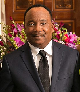 Mahamadou Issoufou Former President of Niger (2011-2021)