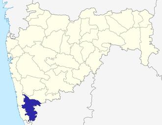 Kolhapur district - Image: Maharashtra Kolhapur