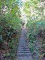 Main approach to Sakamine-jinja shrine in Haramachi ward 2.JPG