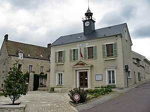 Thoiry, Yvelines - Town hall