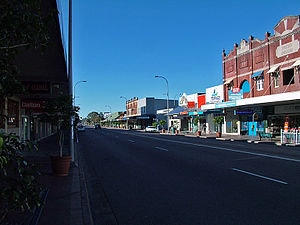 Mayfield, New South Wales - Image: Maitland Rd 1
