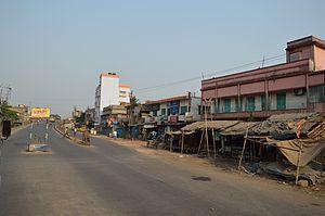 Salap - Makardaha road (SH-15) at Salap