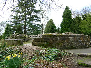 Dunfermline - Remains of Malcolm Canmore's Tower