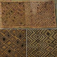 Man's status cloth, Shoowa people, early 20th century, raffia palm fiber, plain weave, cut-pile embroidery, HMA.jpg