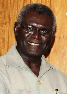 Manasseh Sogavare Solomon Islands politician