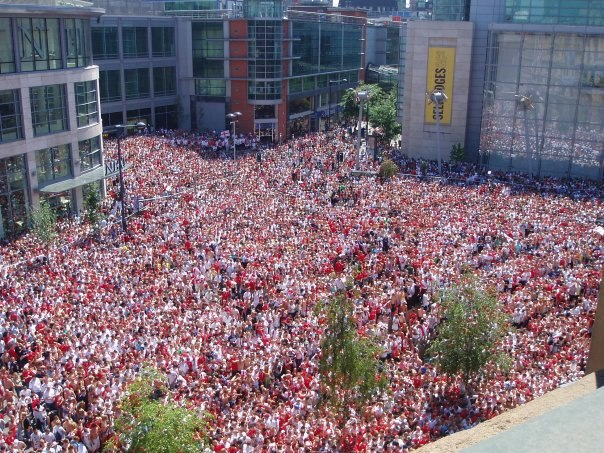 Manchester big screen