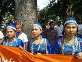 Mandi (Garo) Dancer(s), Indigenous People's Day, 2014, Dhaka, Bangladesh © Biplob Rahman-1.jpg