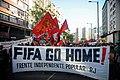 Manifestação contra copa fifa 2014 fifa go home.jpg
