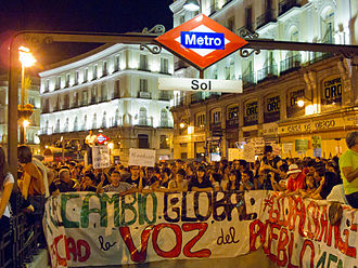 ¡Democracia Real YA! - October 15 Protests in Madrid