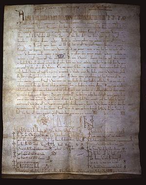 Manifestis Probatum - The papal bull Manifestis Probatum.