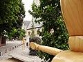Mannequin en bois à la Cultuurplein de Malines 03.jpg