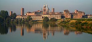 Mantua, Stadtansicht