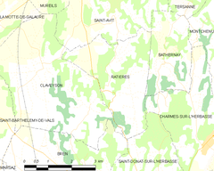 Map commune FR insee code 26259.png