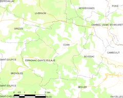 Map commune FR insee code 46075.png