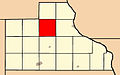 Map highlighting Richland Township, Jackson County, Iowa.jpg