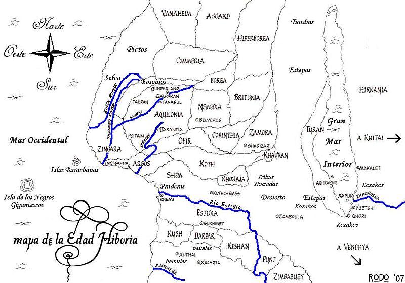 Ficheiro:Mapa de la Edad Hiboria.jpg