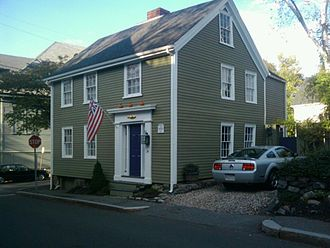 Marblehead Historic District Residence