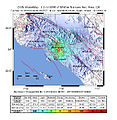 March 2010 Pico Rivera earthquake intensity USGS.jpg