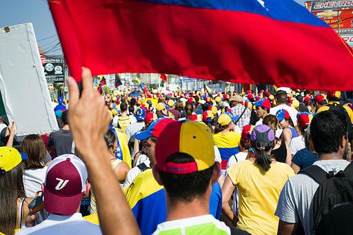 Marcha en Maracaibo - Venezuela