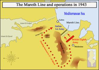 La ligne défensive de Mareth .  330px-MarethMap1943_en