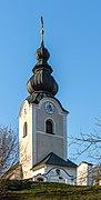 Maria Saal Pörtschach am Berg Pfarrkirche hll. Lambert und Ulrich 27122018 6438.jpg