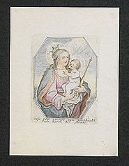 Virgin and child (p7)