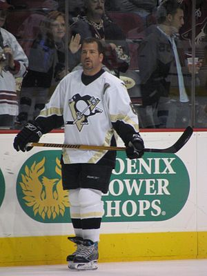 Mark Recchi - Recchi with the Pittsburgh Penguins