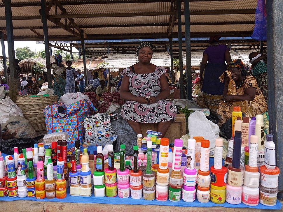 Market in Anaynui, Ghana