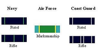 Marksmanship Ribbon - U.S. Marksmanship Ribbons