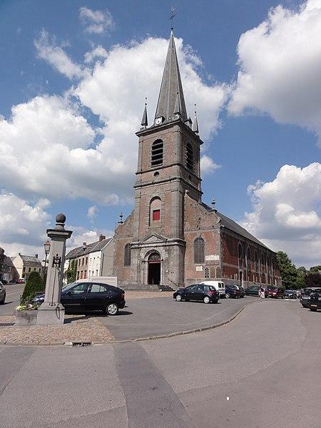 Maroilles (Nord, Fr) église