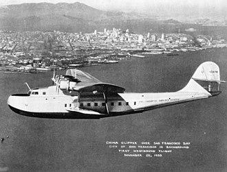 Martin M-130 - China Clipper in 1935