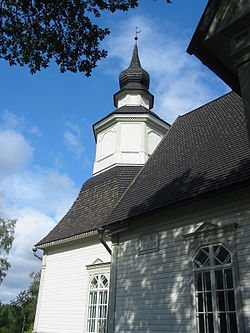 Marttila church bell tower.JPG