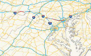Maryland Route 144 State highway in Maryland, US