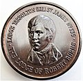 Masonic Penny. Robert Burns's Lodge. Tarbolton St James. No.135.jpg