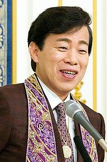 Ryuho Okawa Founder of the Happy Science religion