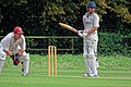 Matching Green CC v. Bishop's Stortford CC at Matching Green, Essex, England 16.jpg