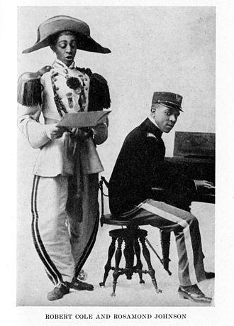 J. Rosamond Johnson - Robert Cole and Rosamond Johnson