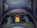 Mausoleo di galla placidia, int., lunetta con apostoli, retro 02.JPG