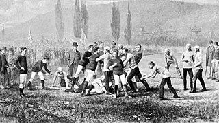 1874 college football season