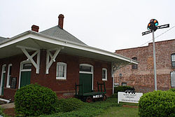McBee Railroad Depot, built in 1914