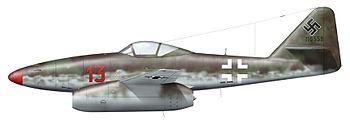 Me 262 A 13 Bär links klein