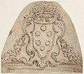 Medici Coat of Arms on top of a Window of Door Frame MET DP809600.jpg