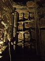 Medieval Cellar beneath 38-39, Bayley Lane. Coventry. Window in North Wall..jpg