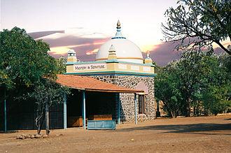 Ahmednagar - Samadhi of Meher Baba
