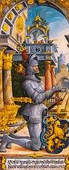 Der kniende Stifter Graf Gottfried Werner von Zimmern – Christus am Ölberg