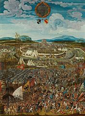 The anachronistic Siege for Battle of Alesia