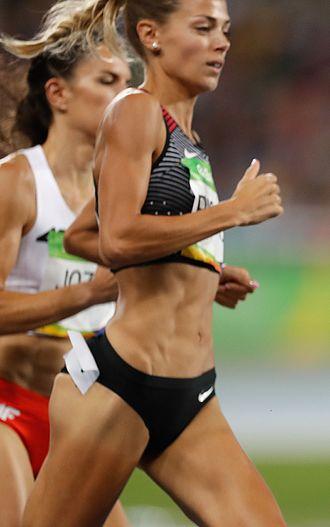 Melissa Bishop - Bishop at the 2016 Olympics
