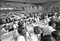 Members of the Kennedy Space Center government-industry team listen to Vice President Spiro Agnew's remarks following the Apollo 11 liftoff.jpg